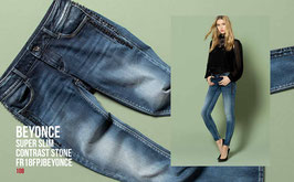 Jeans denim Donna Fracomina art FR18FPJBEYONCE Autunno Inverno 2018/19