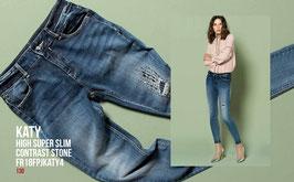 Jeans denim Donna Fracomina art FR18FPJKATY4  Autunno Inverno 2018/19