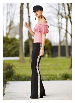 Pantalone donna Denny Rose art 812DD20040 Estate 2018