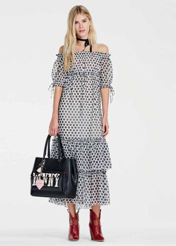 Dress Abito donna Denny Rose art 73dr11021 Primavera 2017