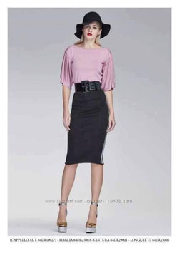Gonna skirt donna Denny Rose art 64dr25006 natale inverno 2016/17