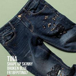 Jeans denim Donna Fracomina art FR18FPJTINA7 Autunno Inverno 2018/19