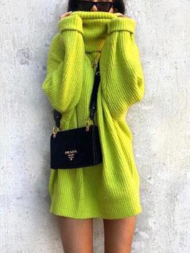 Maxi maglia vari colori Donna art a08 colore giallo