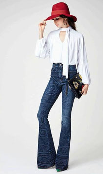Jeans zampa Denny Rose art 64dr12006 Autunno 2016/17