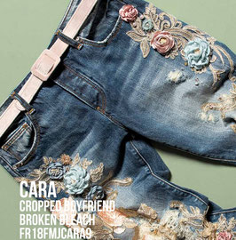 Jeans denim Donna Fracomina art FR18FMJCARA9 Autunno Inverno 2018/19