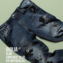 Jeans denim Donna Fracomina art FR18FPJGIULIA1 Autunno Inverno 2018/19