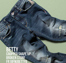 Jeans denim Donna Fracomina art FR18FMJBETTY8 Autunno Inverno 2018/19