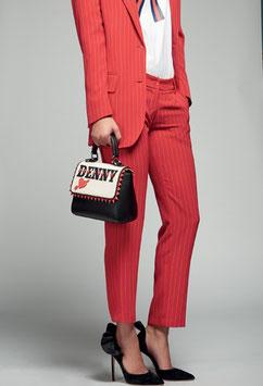 Pantalone rosso donna Denny Rose art 721DD20006 Autunno Inverno 2017 2018