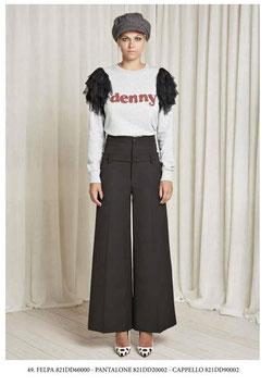 Pantalone donna Denny Rose art 821DD20002 Autunno 2018/19 nero