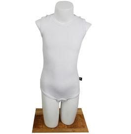 Romper extra drukknopen op schouders - Wit -