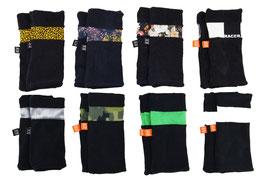 Set Sabbelmouwtjes Zwart