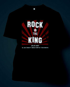 ROCK THE KING SHIRT 2017 - Männer