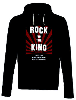 ROCK THE KING HOODIE 2017 - Frauen