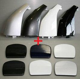 200系 ハイエース 塗装済み コーナーパネル+リアアンダーミラーレスカバー