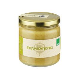 Honig mit Ingwer - 100% Bio Honig trifft Ingwer aus biologischem Anbau