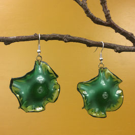 Set of 2 Earrings, green