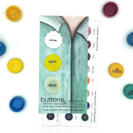 BottleCapButton white/yellow/milk