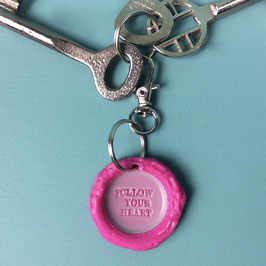 keychain Follow your heart