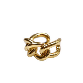"""The Chain Ring"" - Ketten Ring Gold"