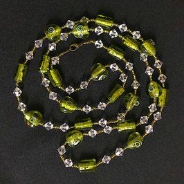 Halskette Swarovski Perlen