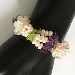 Armband Perlen/Halbedelsteine