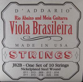 D'Addario Viola Brasileira 10 Strings J82B