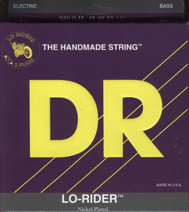 DR Strings Lo-Rider Nickel Plated Medium Lite 045-100 NMLH-45