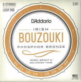D'Addario 8 String Irish Bouzouki EJ81