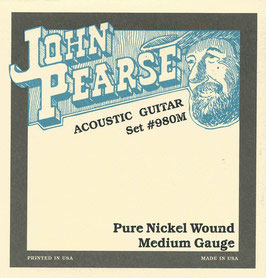 John Pearse Pure Nickel Light 013-057 Set #980M