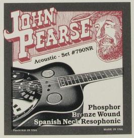 John Pearse Resophonic Guitar Phosphor Bronze Spanish Neck, .013 - .056, 790NR (BEJS)