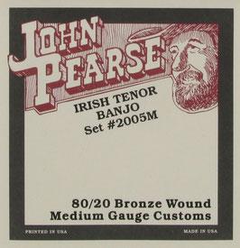 John Pearse® Tenor Banjo, .012 - .036, Set 2005M (BEJS)
