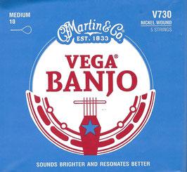 Martin Vega Banjo Saiten V730