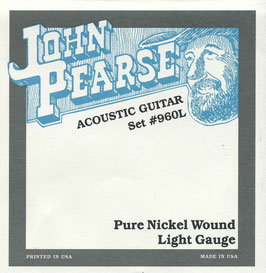 John Pearse Pure Nickel Light 012-054 Set #960L (BEJS)