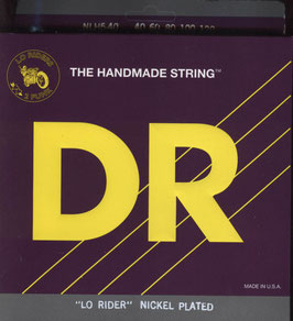 DR Strings Lo-Rider Nickel Plated Lite 040-120 LH5-40