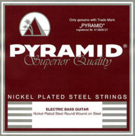 Pyramid Elektro Bass Nickel-Plated Steel, Low Bottom Five Standard  (Art.Nr.976 100) (BE)
