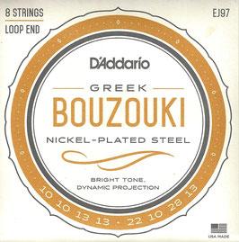 D'Addario 8 Strings Bouzouki EJ97