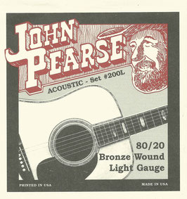 John Pearse 80/20 Light 012-053 Set #200L