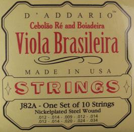 D'Addario Viola Brasileira 10 Strings J82A