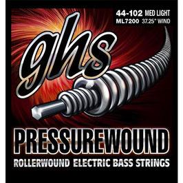 GHS Pressurewound .044-.102, Light  (ML7200)