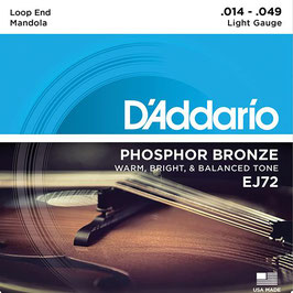 D'Addario Mandola 8-String (EJ72)
