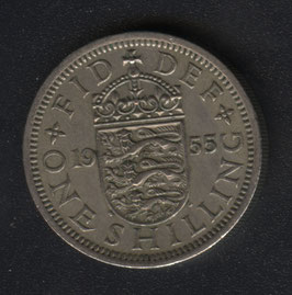 One Shilling Münze