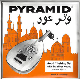 Pyramid Aoud Strings Syrian Tuning Orange Label ( Art.Nr. 650/11)