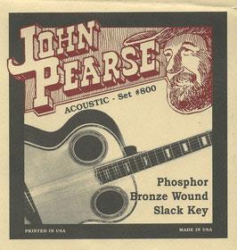 John Pearse Phosphor Bronze Slack Key 013-056 Set #800