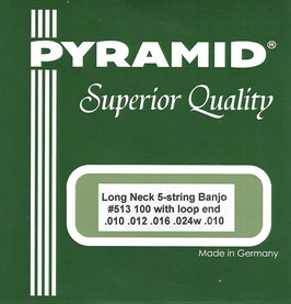 Pyramid  Long Neck 5-String Banjo