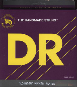 DR Strings Lo-Rider Nickel Plated Medium 6s 030-130 NMH6-130