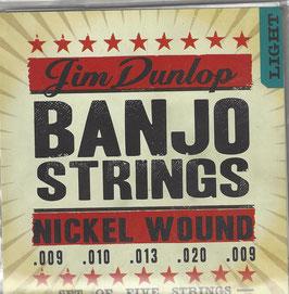 Dunlop Banjo Nickel Wound Light (DJN0920)