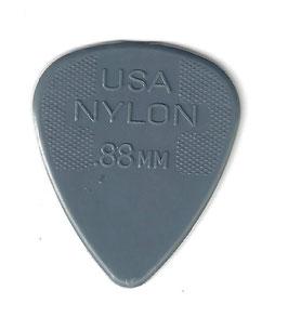 Dunlop Nylon Standart Plektrum 0.88 mm