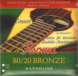 Lenzner, Fisoma, Consort, Mandoline Saiten. (Satz F 3020 C)