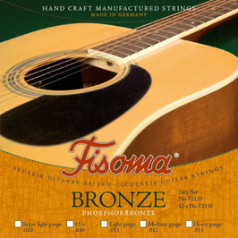 Lenzner Phosphorbronze Akustikgitarre  Medium (Satz F2120 M)