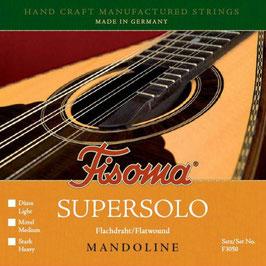 Lenzner, Fisoma, Supersolo, Flatwound, Mandoline Saiten. (Satz F 3050 L)